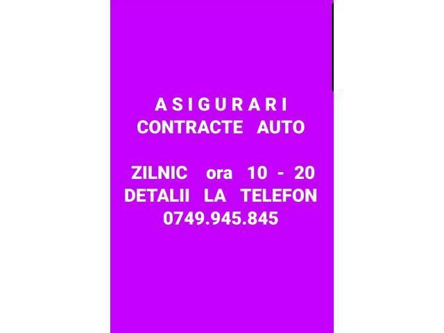 ASIGURARI  contracte auto