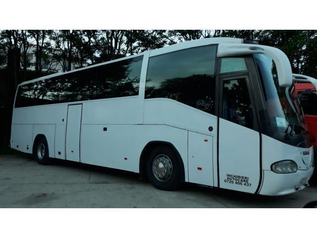 Autocar Scania Irizar, stare ireprosabila, an 1999, merita vazuta, 56 locuri.