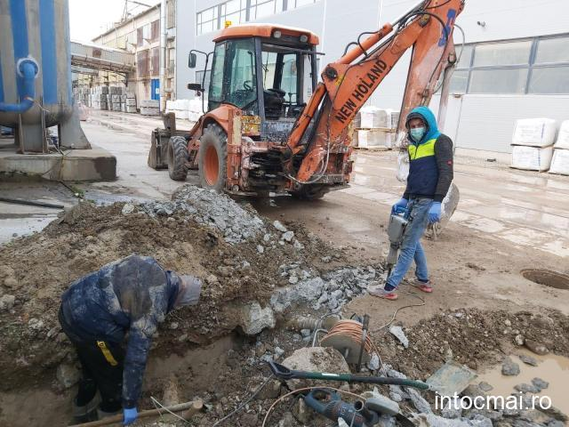 Servicii buldo-excavator, cupa multifunctionala, picon hidraulic + autobasculanta 3,5 tone