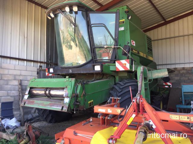 Combina agricola John Deere 1188 S2 Hidro 4, AC, heaer 4,85 metri. Import