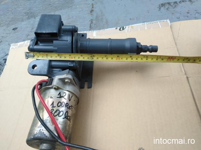 Reductor cu motor electric 12 volti