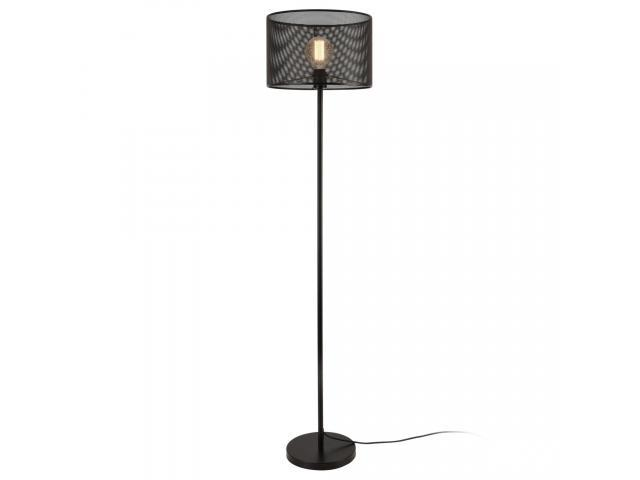 [lux.pro] Lampa de podea Arensburg, 153 cm, 1 x E27, max. 60W, metal negru