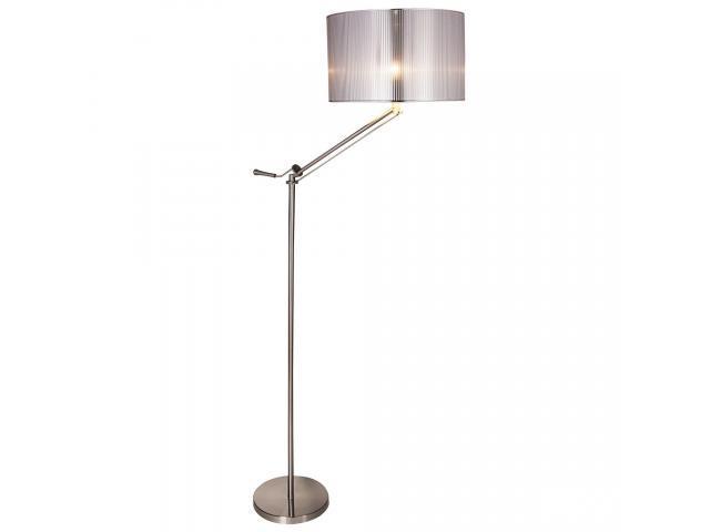 [lux.pro]® Lampa de podea eleganta - crom e Swing 1 x E 27 - 60W - argintiu