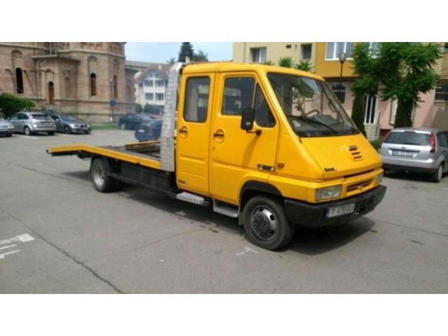Renault master 3,5 t platforma omologat în acte