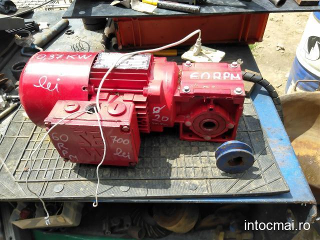 Reductor cu motor electric cazan de țuică