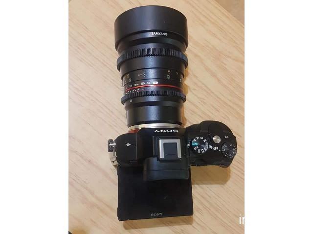 aparat foto profesional Sony