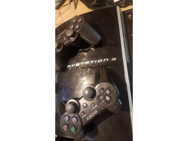 Consolă PS3 cu jocuri