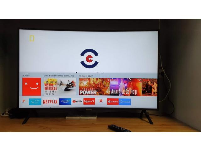 TV Led Smart Curbat Samasung