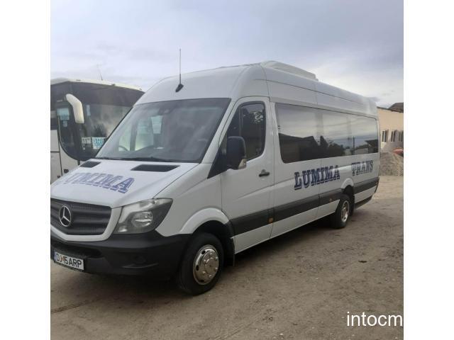 Microbuz Mercedes - Benz Sprinter 519 CDi, an 2019, Euro 6, AC-clima, 56.679 km reali, 22+1 locuri