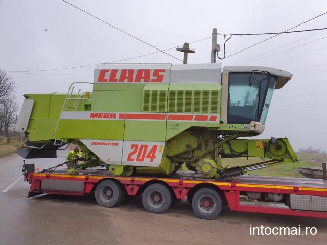 Combina agricola Claas Mega 204, AC. Import decembrie 2020