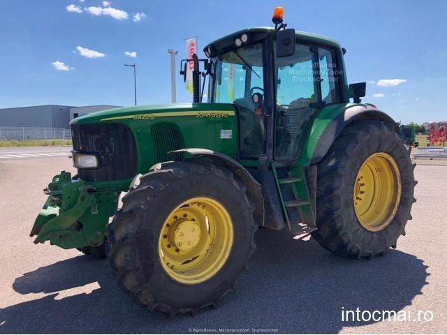 Tractor John Deere 6920S PREMIUM, an 2004, AC, 4x4, 9419 ore reale. IMPORT 2020