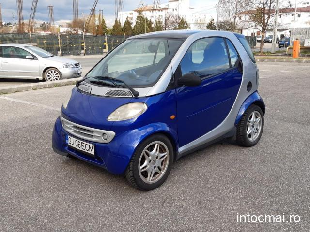 smart fotwo 0.7 benzina 2002/aer conditionat/automata
