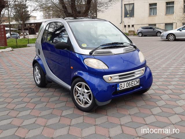 smart fotwo 0.7 benzina 2002/aer conditionat/automata