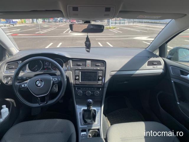 W Golf 7 Facelift 1.6TDI ACT Blue Motion Comfort Line, an 2019, garantie VW, 56.000 km reali