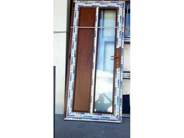 Tamplarie P.V.C din Aluminiu cu geam termopan